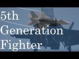 Пятое поколение американские F-22 &amp F-35 , российские T-50 , китайские J-20 &amp J-31 , японский X-25th Generation Fighter - U.S.