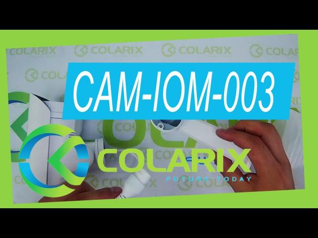 IP камера охранного видеонаблюдения поворотная COLARIX CAM-IOM-003