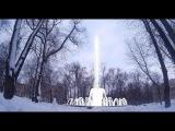 Фонтан в парке им. Котляревского зимой. Лукьяновка, Киев.