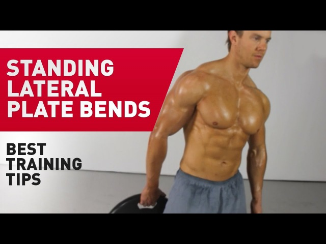 Боковые скручивания стоя - техника выполнения упражнения (FitABS - Exercise Guide) ,jrjdst crhexbdfybz cnjz - nt[ybrf dsgjkytybz