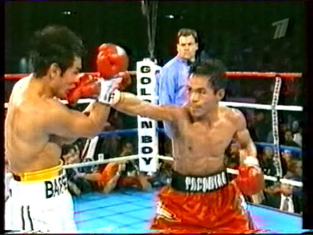 Мэнни Пакьяо-Марко Антонио Баррера 1(Вл.Гендлин ст)Manny Pacquiao-Marco Antonio Barrera 1 v'yyb gfrmzj-vfhrj fynjybj ,fhhthf 1(d