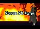 Ниндзя:Легендарные Воины  Voronn VS Кагуя