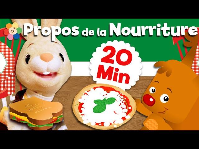 Les enfants apprennent leurs premiers mots | Gâteau, céréales, pizza et plus encore ! | BabyFirst