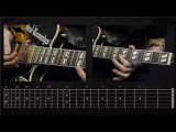 Sasha Rock'n'Roll guitar lessons- The Offspring (Come Out And Play) видео урок №7 tutorial