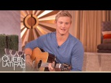 Alexander Ludwig Serenades Queen Latifah on The Queen Latifah Show