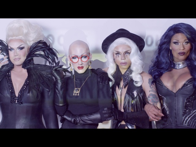 Aja, Alexis Michelle, Peppermint Sasha Velour - C.L.A.T. (Feat. DJ Mitch Ferrino) [Official Video]