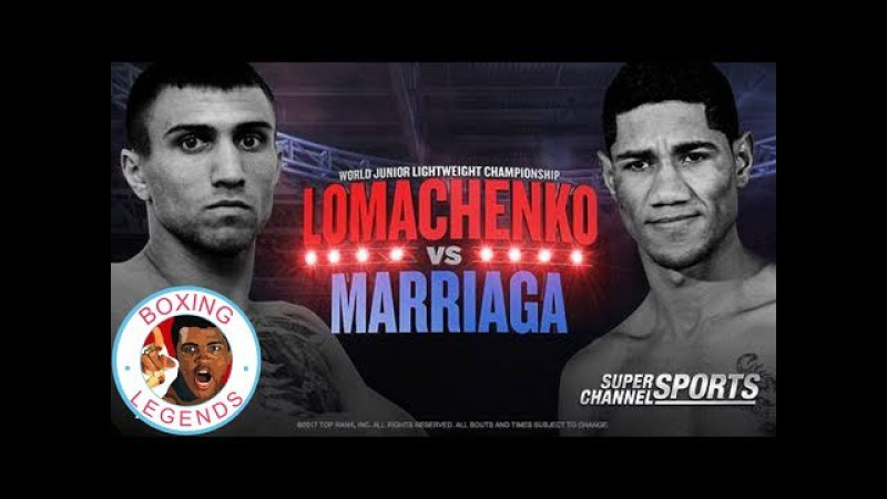 Vasyl Lomachenko vs Miguel Marriaga (Highlights)