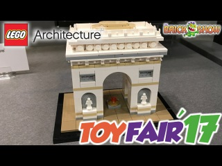 LEGO Architecture Summer 2017 Reveal! (New York Toy Fair 2017)