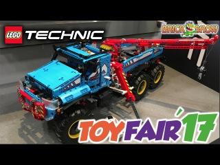 LEGO Technic Summer 2017 Reveal! (New York Toy Fair 2017)