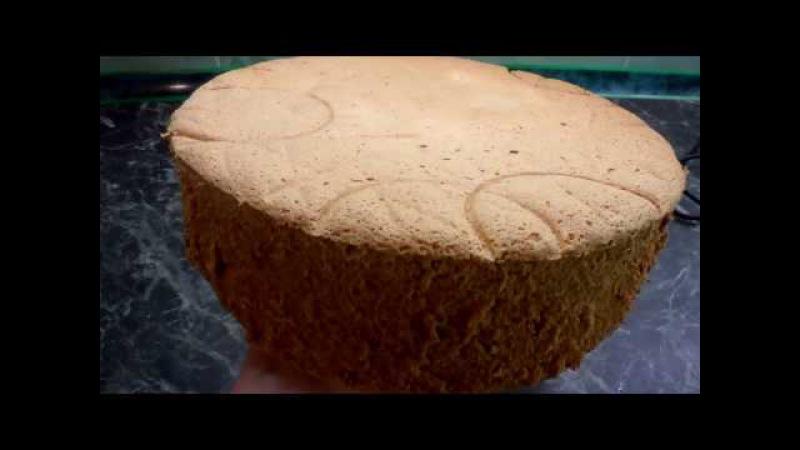 БИСКВИТ быстро и вкусно / Easy Homemade Vanilla Cake from Scratch