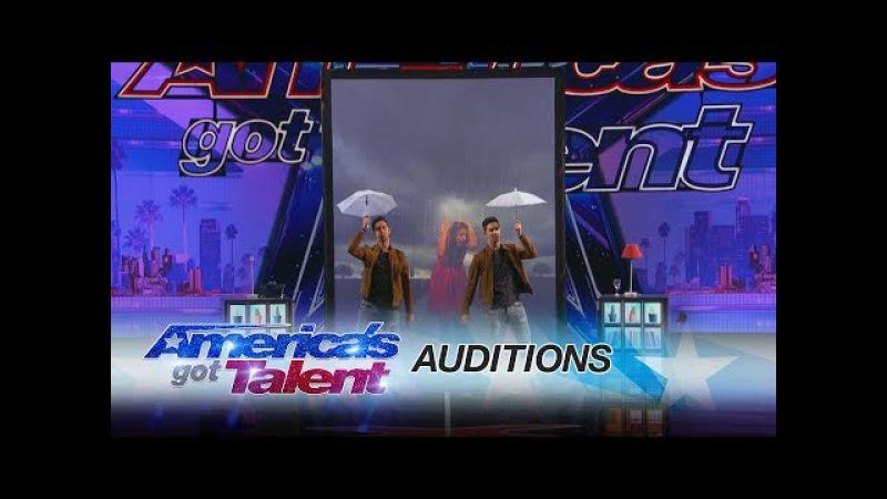 Tony and Jordan Identical Twins Dazzle With Magic - Americas Got Talent 2017