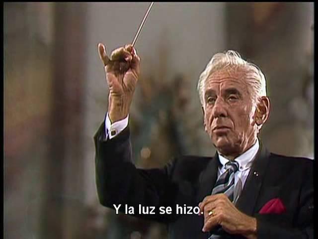 Haydn Die Schöpfung The Creation Leonard Berstein en Español Subtitulos