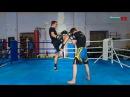 Клинч в тайском боксе / Атака и защита с помощью колена