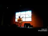 Виталий Будяк. Фрагмент концерта в студии Серебряного Дождя.