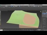 Моделирование ландшафта. Смешанный вариант моделирования ландшафта в 3ds Max.