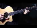 How to play We Three Kings of Orient Are on acoustic guitar lesson tutorial Christmas carols