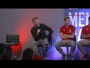 special Q&A session at Emirates Stadium with members of the Arsenal squad
