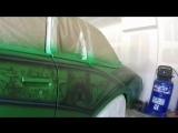 Street Bully Lowrider Paint Job on Buick Regal