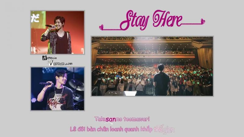 [Vietsub Kara] Stay Here - Kim Hyun Joong
