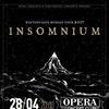 INSOMNIUM (Fin)    28.04.17    СПб (Opera)