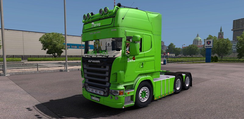 Грузовик Scania R620 Bring v3.0