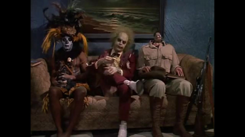 Битлджус | Beetlejuice (1988) Концовка | Harry Belafonte–Jump in the Line