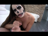 POVBitch Halloween Black Anal - Mea Melone HD porno, sex, big ass, tits, big boobs, oral, blowjob, ANAL, licking, hardcore