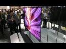 Обзор телевизора обоев LG W толщина 2 57 миллиметра