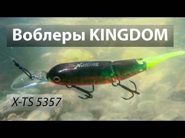 Воблеры Kingdom модель 5357 из Китая. X-TS