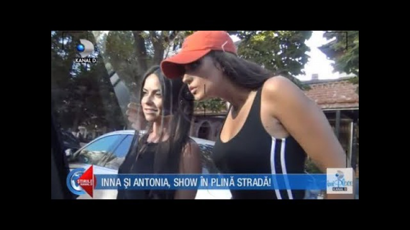 Stirile Kanal D (11.09.) - Inna si Antonia, show in plina strada! I-a surprins pe paparazzi! COMPLET