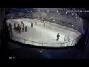 Жесткая драка в юношеском хоккее