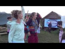 Утренняя гимнастика   деревня Пяльма 160814