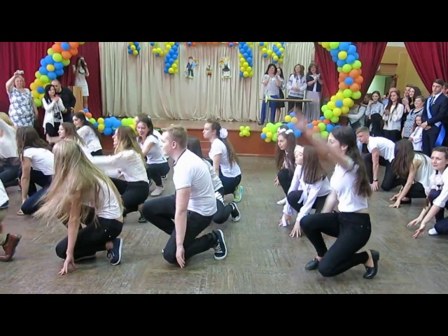 Флешмоб, г.Винница. школа №35