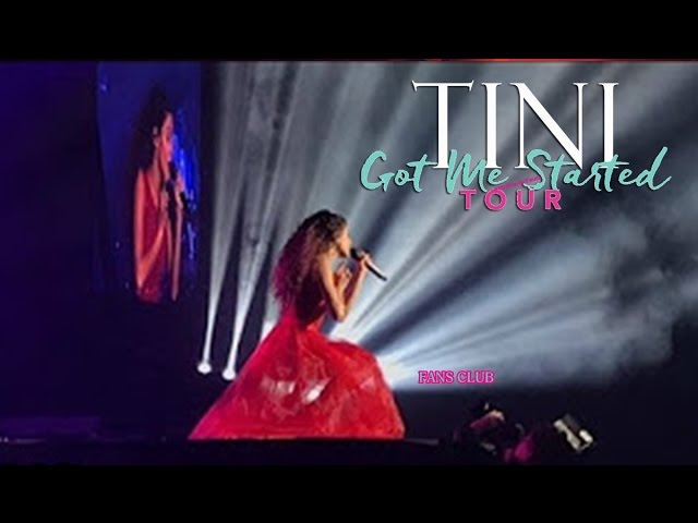 TINI: Got Me Started TOUR - Te Creo