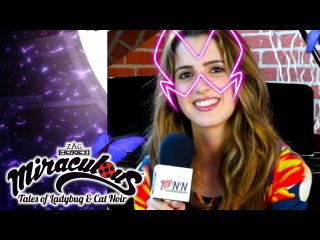 The Miraculous News Network - Laura Marano Lindalee | Tales of Ladybug Cat Noir