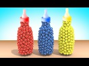 УЧИМ ЦВЕТА Детская Бутылочка - Цветные Мячи Развивающие мультфильмы для малышей Волшебство ТВ