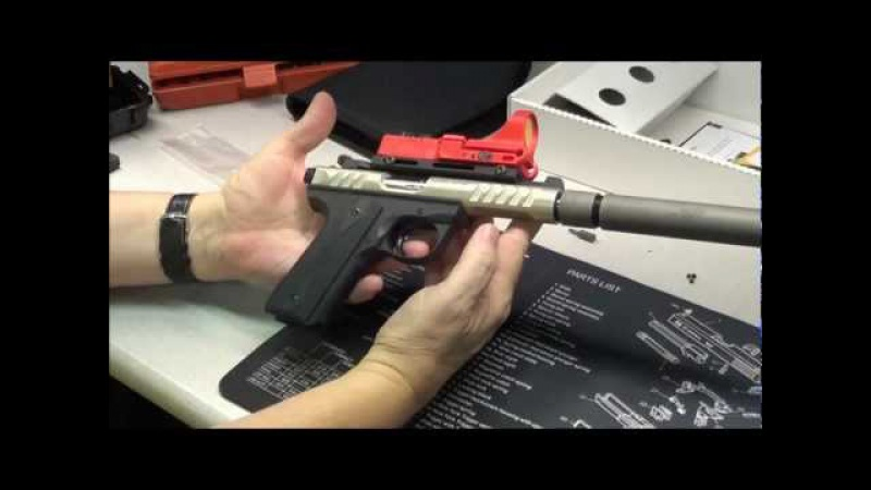 Ruger 22/45 Lite with a Gemtech Seahunter suppressor