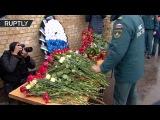В Москве почтили память пожарных, погибших при тушении склада на Амурской улице