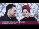Шабнами Сурайё ва Зеваров / Shabnam Surayа and Zevarov. Interview for the TV MIR 2012