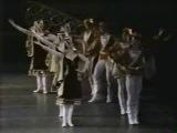 ABT 1981 PETIPA EVENING  RAYMONDA VAN HAMEL AND GODONOV-- Baryshnikov talks about Petipa