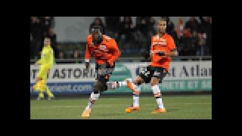 Live match Chateauroux Lorient Oumare Tounkara GOAL Coupe de France 31.01.2017_HD