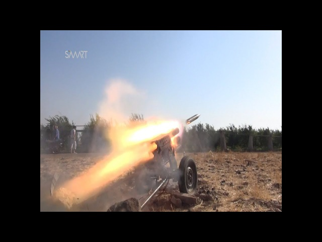 Free targets sites of the Army of Khalid in the Yarmouk basin Badra
