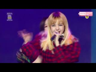 170119 BLACKPINK (블랙핑크) - Playing With Fire (불장난) BOOMBAYAH (붐바야) @ 하이원 서울가요대상 Seoul Music Awards