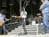 Guns N' Roses with Jeff Beck - Warmup &amp Locomotive