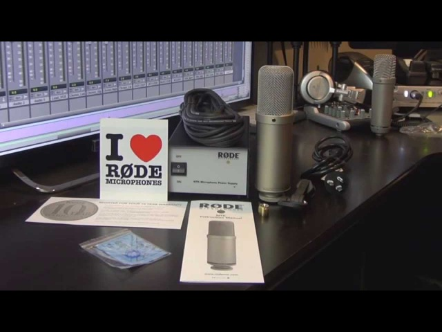 Rode NTK Microphone Unboxing