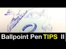Drawing Quick Tips | Simple Ballpoint Pen Shading Tips Pt 2