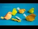 Origami Chicken-Box :: Pollito-caja