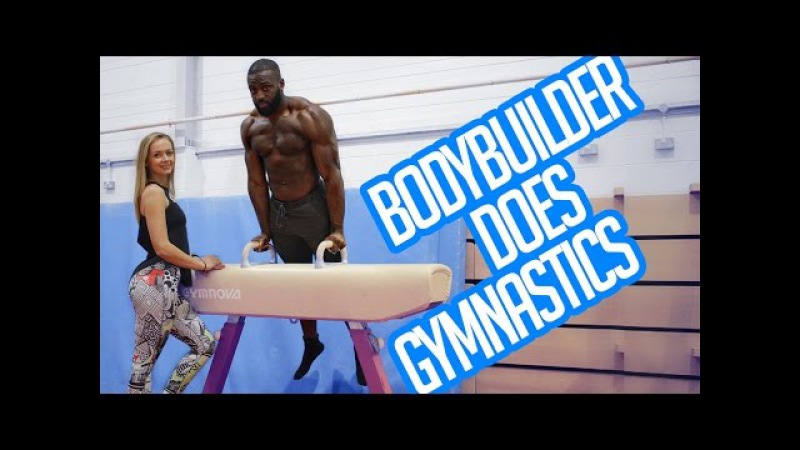 BodyBuilder Doing Gymnastics   How to Front Flip   Gabriel Sey