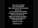 War - Edwin Starr with lyrics