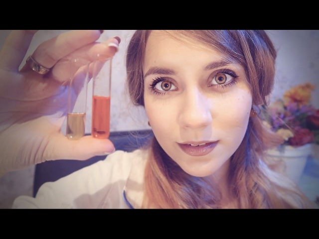 ASMR MEDICAL EXAMINATION - ENT Check👂👅👃 Accent, Gloves, Ear cleaning, Role play, Close up whisper